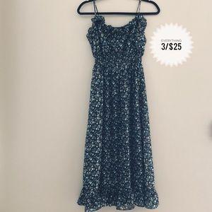 Women's FOREVER 21 flower patterned dress